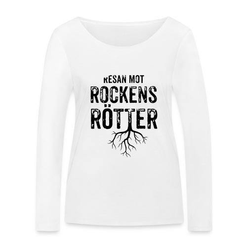 Nallebjörn, Rockens rötter - Ekologisk långärmad T-shirt dam från Stanley & Stella