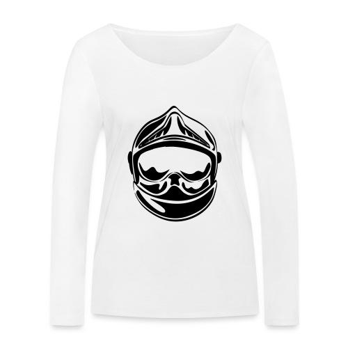casque_face_2 - T-shirt manches longues bio Stanley & Stella Femme