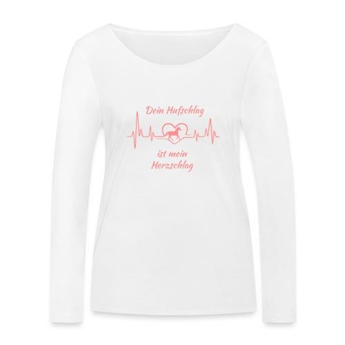 Vorschau: Dein Hufschlag - Frauen Bio-Langarmshirt von Stanley & Stella