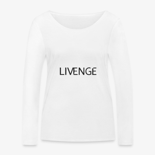 Livenge - Vrouwen bio shirt met lange mouwen van Stanley & Stella