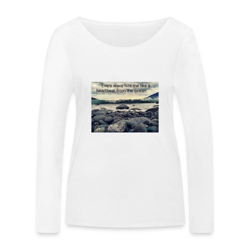 Oceanheart - Økologisk langermet T-skjorte for kvinner fra Stanley & Stella