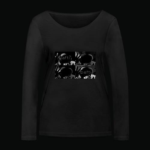 black bafti crew - Økologisk Stanley & Stella langærmet T-shirt til damer