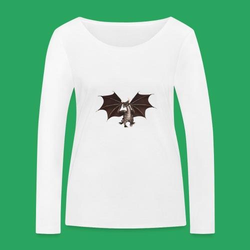 dragon logo color - Maglietta a manica lunga ecologica da donna di Stanley & Stella