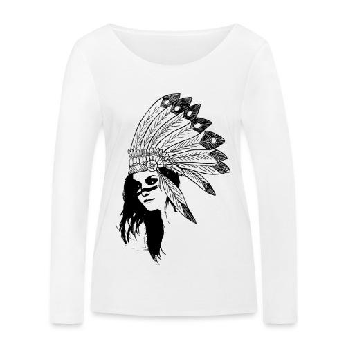 Indienne - T-shirt manches longues bio Stanley & Stella Femme
