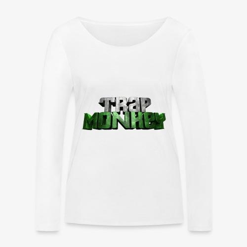 Trap Monkey 2 - T-shirt manches longues bio Stanley & Stella Femme