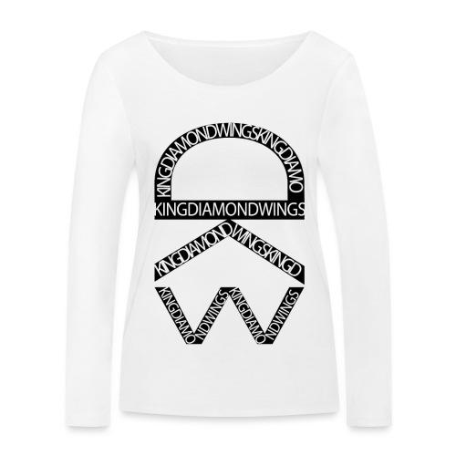King Diamond Wings Logo - Women's Organic Longsleeve Shirt by Stanley & Stella
