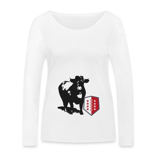 Vache - Cow - Frauen Bio-Langarmshirt von Stanley & Stella
