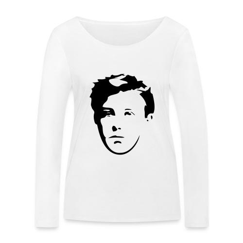 Arthur Rimbaud visage - T-shirt manches longues bio Stanley & Stella Femme