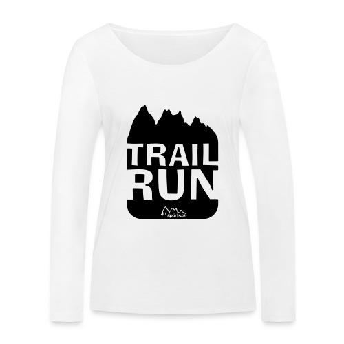 Trail Run - Frauen Bio-Langarmshirt von Stanley & Stella