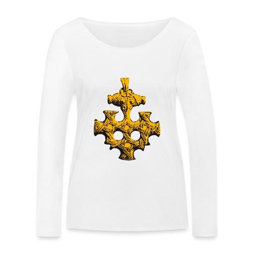 Goldschatz - Frauen Bio-Langarmshirt von Stanley & Stella