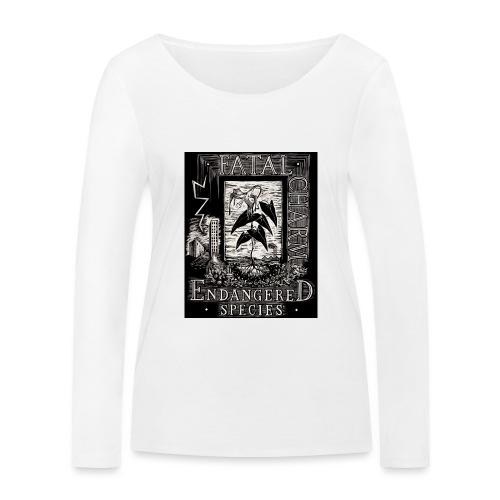 fatal charm - endangered species - Women's Organic Longsleeve Shirt by Stanley & Stella