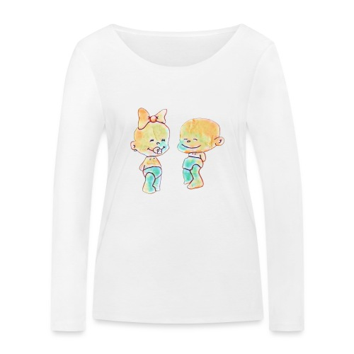 Bambini innamorati - Maglietta a manica lunga ecologica da donna di Stanley & Stella