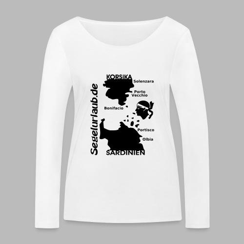 Korsika Sardinien Mori Shirt - Frauen Bio-Langarmshirt von Stanley & Stella