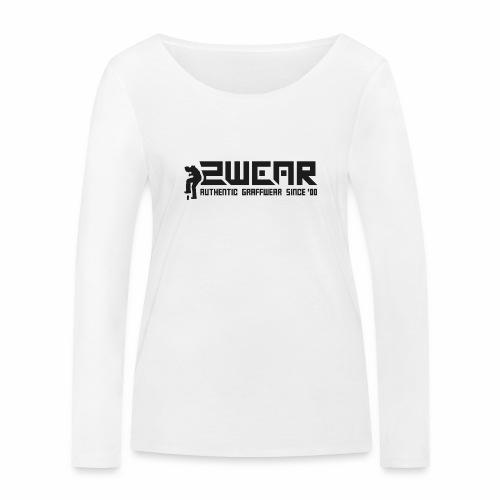 2wear org tagline logo ver01 - Økologisk Stanley & Stella langærmet T-shirt til damer