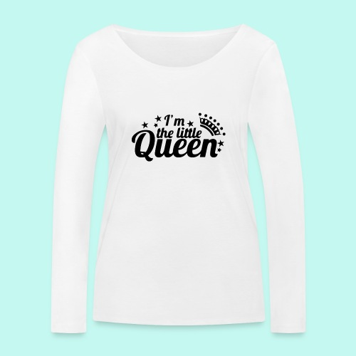 I'm the little Queen - Frauen Bio-Langarmshirt von Stanley & Stella