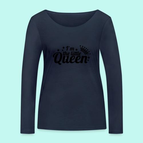 I'm the little Queen - Frauen Bio-Langarmshirt von Stanley & Stella