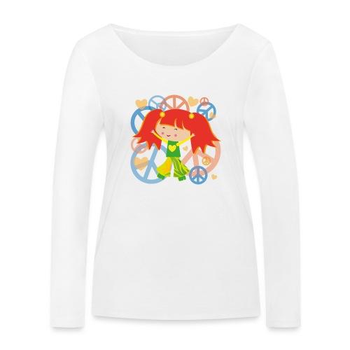 Happy Meitlis - Be Happy - Frauen Bio-Langarmshirt von Stanley & Stella