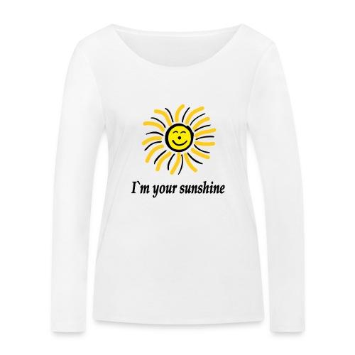 2i m youre sunshine Gelb Top - Frauen Bio-Langarmshirt von Stanley & Stella