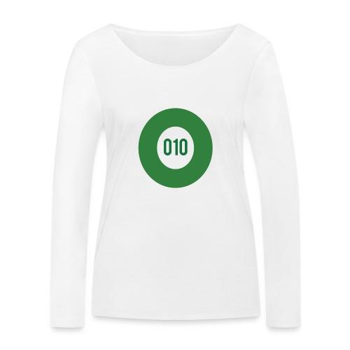 010 logo - Vrouwen bio shirt met lange mouwen van Stanley & Stella