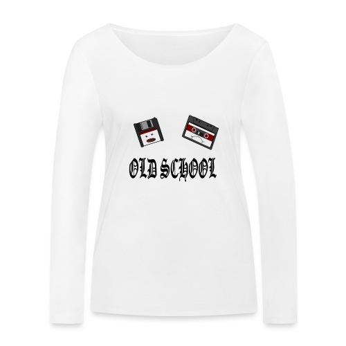 Old School Design - Frauen Bio-Langarmshirt von Stanley & Stella