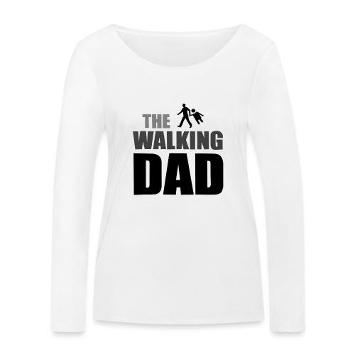 the walking dad auf dem Weg in die lustige Bar - Frauen Bio-Langarmshirt von Stanley & Stella