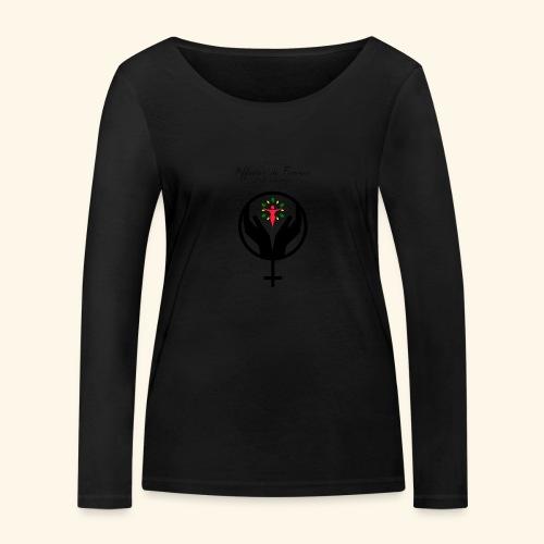 Affaires de Femmes - T-shirt manches longues bio Stanley & Stella Femme
