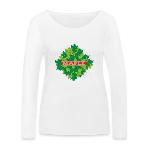 maple - Frauen Bio-Langarmshirt von Stanley & Stella