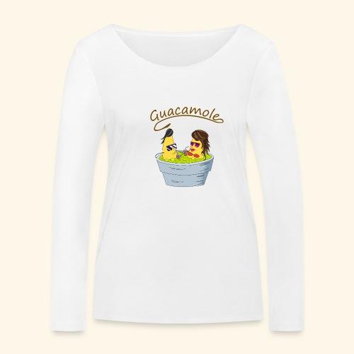 Guacamole - Camiseta de manga larga ecológica mujer de Stanley & Stella