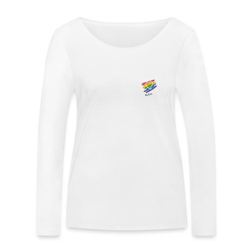 Rita color - Camiseta de manga larga ecológica mujer de Stanley & Stella