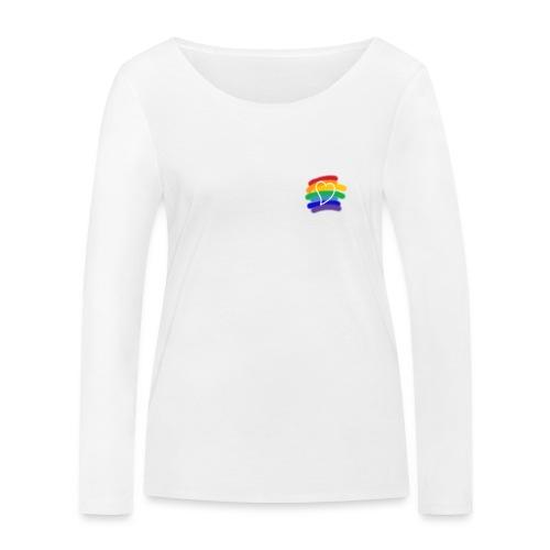 Love color - Camiseta de manga larga ecológica mujer de Stanley & Stella