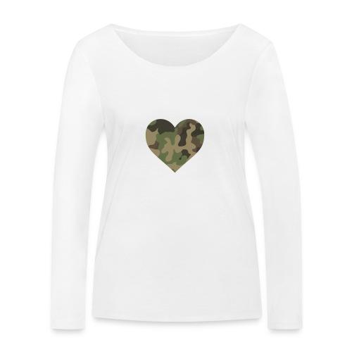 CamoHearth - Ekologiczna koszulka damska z długim rękawem Stanley & Stella