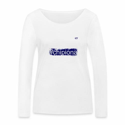 Hashtag Chipiona - CF - Camiseta de manga larga ecológica mujer de Stanley & Stella