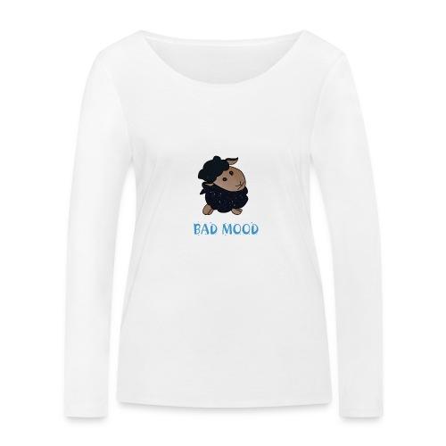 Badmood - Gaspard le petit mouton noir - T-shirt manches longues bio Stanley & Stella Femme