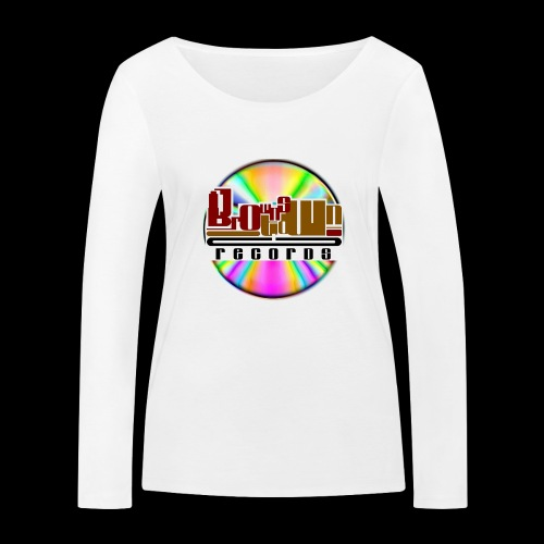 BROWNSTOWN RECORDS - Women's Organic Longsleeve Shirt by Stanley & Stella