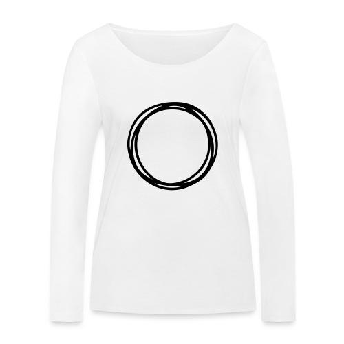 Circles and circles - Women's Organic Longsleeve Shirt by Stanley & Stella