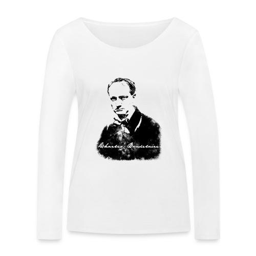 Charles Baudelaire - T-shirt manches longues bio Stanley & Stella Femme