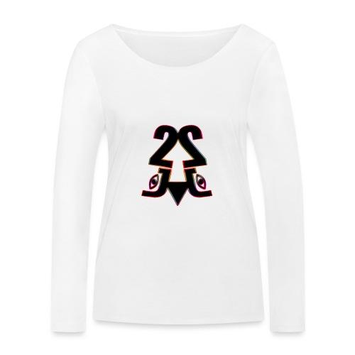 2j_Rainbow - Økologisk Stanley & Stella langærmet T-shirt til damer