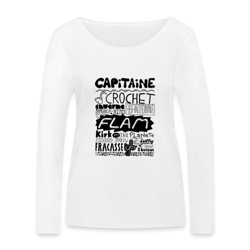 capitaine - T-shirt manches longues bio Stanley & Stella Femme