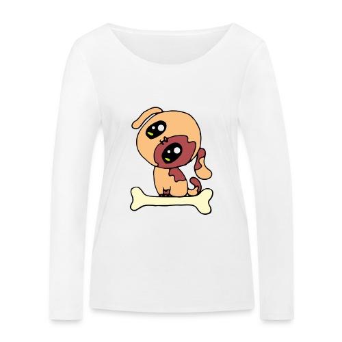 Kawaii le chien mignon - T-shirt manches longues bio Stanley & Stella Femme