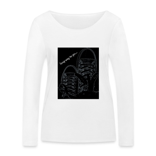 Long way to go - Women's Organic Longsleeve Shirt by Stanley & Stella
