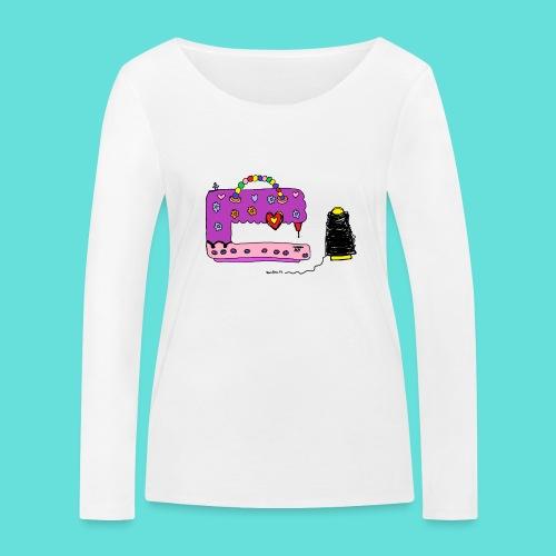 Machine à coudre - T-shirt manches longues bio Stanley & Stella Femme