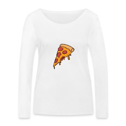 Pizza - Camiseta de manga larga ecológica mujer de Stanley & Stella