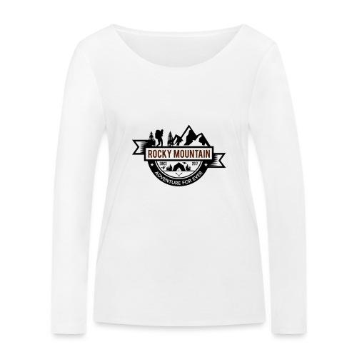 ROCKY MOUNTAIN - Maglietta a manica lunga ecologica da donna di Stanley & Stella