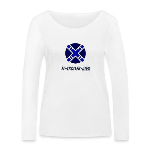 DISEÑO EL TROLLER ALEX EVO - Camiseta de manga larga ecológica mujer de Stanley & Stella