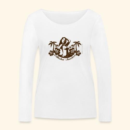 Aloha Sucker - Frauen Bio-Langarmshirt von Stanley & Stella
