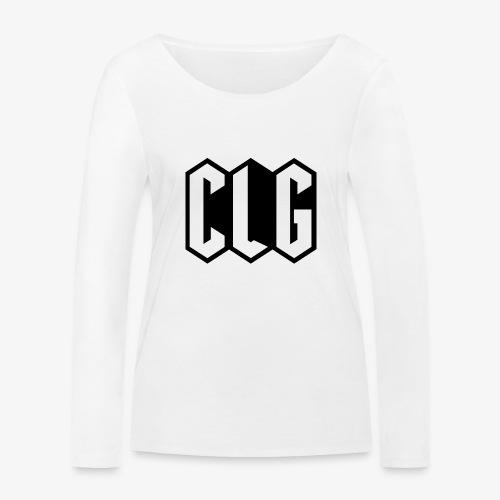 CLG DESIGN black - T-shirt manches longues bio Stanley & Stella Femme
