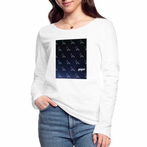 pigeonarmay in space - Frauen Bio-Langarmshirt von Stanley & Stella