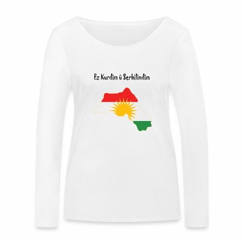 Ez kurdim u serbilindim - Ekologisk långärmad T-shirt dam från Stanley & Stella