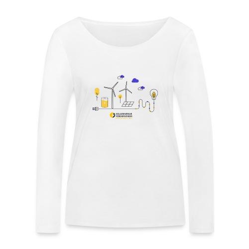 Erneuerbare Energien - Frauen Bio-Langarmshirt von Stanley & Stella