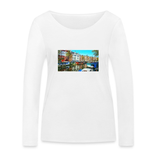 image - T-shirt manches longues bio Stanley & Stella Femme